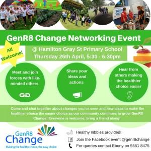 GenR8 Change 26th April